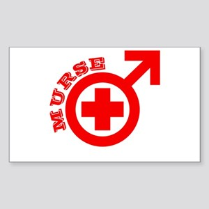 Murse Rectangle Sticker