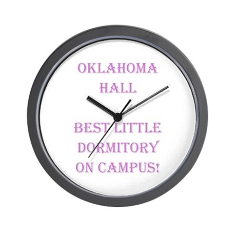 Oklahoma Hall Wall Clock