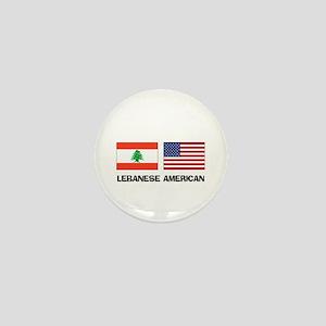 Lebanese American Mini Button