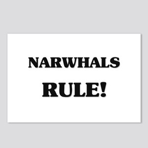 Narwhals Rule Postcards (Package of 8)