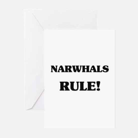 Narwhals Rule Greeting Cards (Pk of 10)
