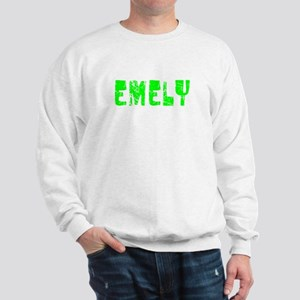 Emely Faded (Green) Sweatshirt