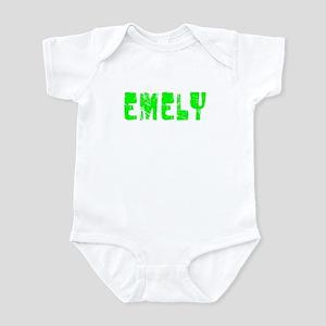 Emely Faded (Green) Infant Bodysuit