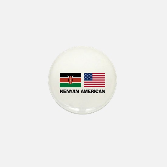 Kenyan American Mini Button