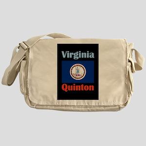 Quinton Virginia Messenger Bag