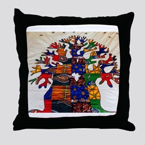 Baobab Beauty Throw Pillow