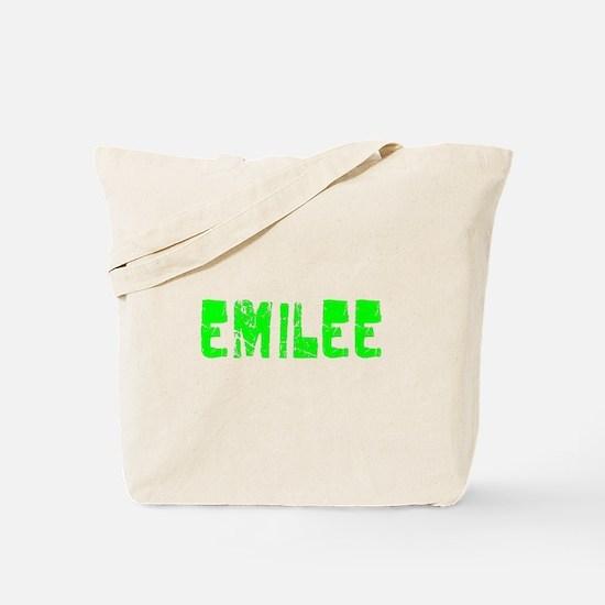 Emilee Faded (Green) Tote Bag