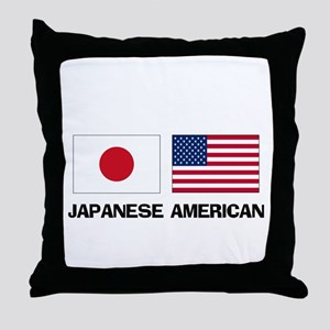 Japanese American Throw Pillow