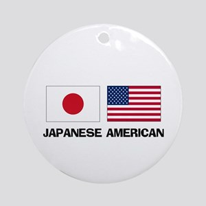 Japanese American Ornament (Round)