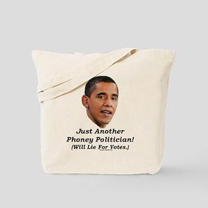 """Just a Phoney"" Tote Bag"