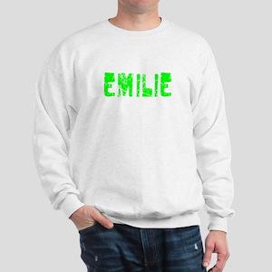 Emilie Faded (Green) Sweatshirt