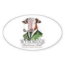 Handsome Bull Sticker
