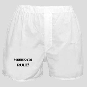 Meerkats Rule Boxer Shorts