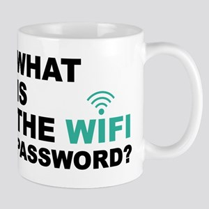 What is the Wi-Fi password Mugs