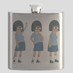 Bob's Burgers Tina Dance Flask