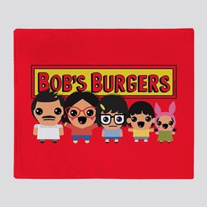 Bob's Burgers Family Throw Blanket