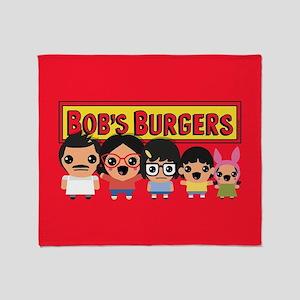 Bob's Burgers Family Throw Blanket