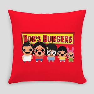Bob's Burgers Family Everyday Pillow