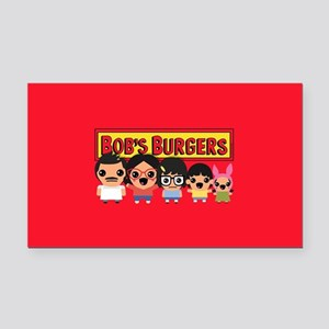 Bob's Burgers Family Rectangle Car Magnet