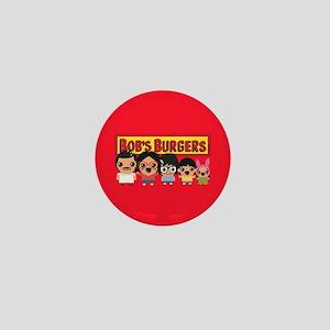 Bob's Burgers Family Mini Button