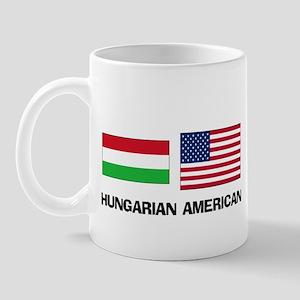 Hungarian American Mug