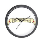 Be Patient Wall Clock