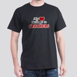 My Heart Belongs to Crackers T-Shirt