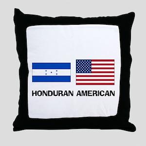 Haitian American Throw Pillow