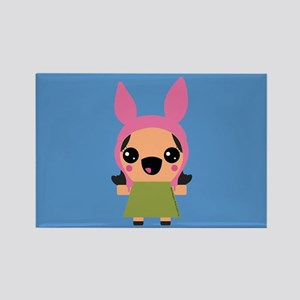 Bob's Burgers Louise Rectangle Magnet