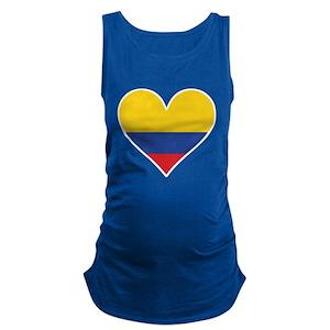 2f7de1ef6e1 Colombian Flag Maternity Tank Tops - CafePress