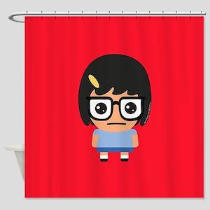 Bob's Burgers Tina Shower Curtain