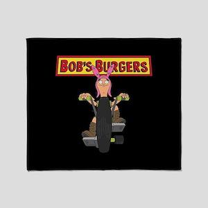 Bob's Burgers Bike Throw Blanket