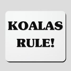 Koalas Rule Mousepad