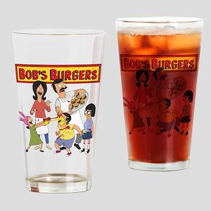 Bob's Burgers Family Drinking Glass