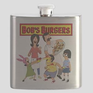 Bob's Burgers Family Flask