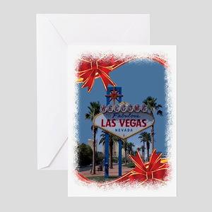 Las Vegas Christmas Greeting Cards