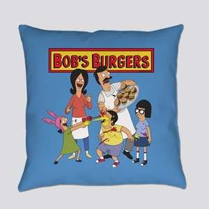Bob's Burgers Family Everyday Pillow