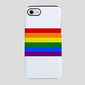 LGBT Rainbow Gay Pride Flag iPhone 8/7 Tough Case