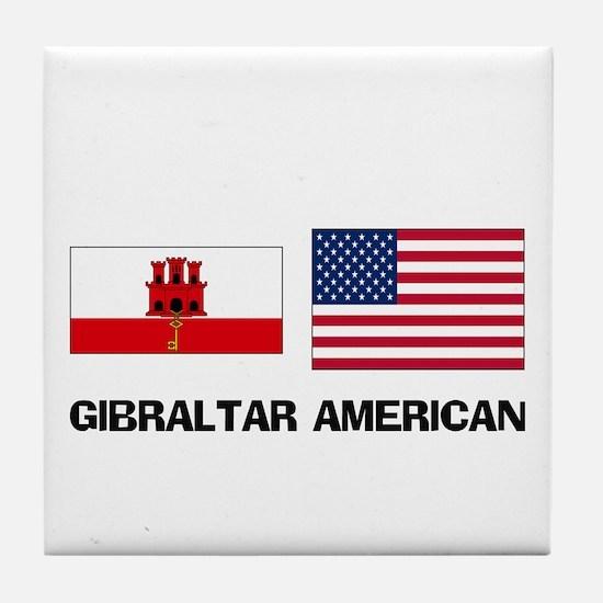 Gibraltar American Tile Coaster