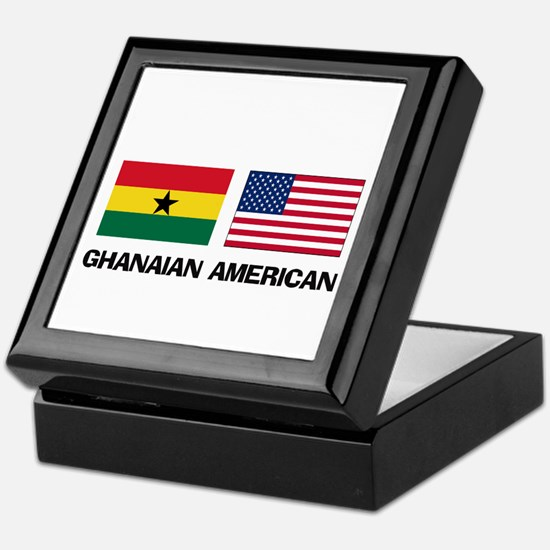 Ghanaian American Keepsake Box
