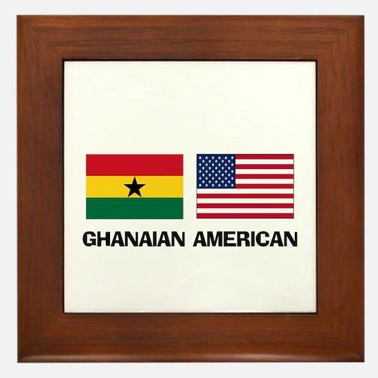 Ghanaian American Framed Tile