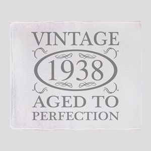 1938 Aged To Perfection Throw Blanket