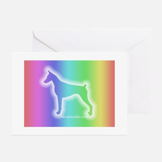 Doberman Sympathy Cards Greeting Cards