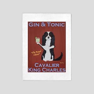 Cavalier Gin & Tonic 5'x7'Area Rug