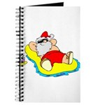 Sunbathing Santa Journal