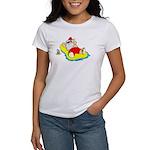 Sunbathing Santa Women's T-Shirt