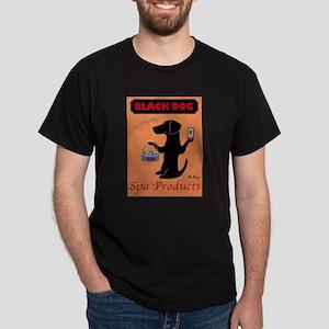 black dog spa Dark T-Shirt