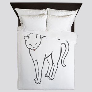 Stretchee Cat Queen Duvet