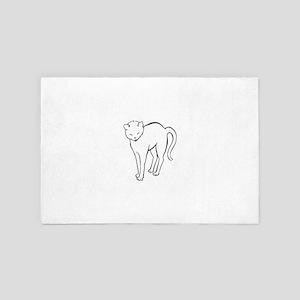 Stretchee Cat 4' x 6' Rug