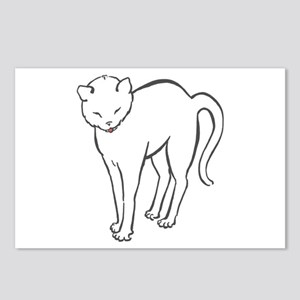 Stretchee Cat Postcards (Package of 8)